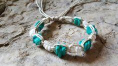 Check out this item in my Etsy shop https://www.etsy.com/listing/226847766/hemp-bracelet-puka-shell-bracelet