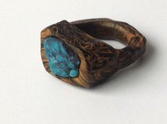 Chunky Polymer Clay Statement Ring Handmade by UpperHandRings