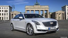 2017 Cadillac CT6 (Euro-Spec) - Front Three-Quarter - Picture # 15