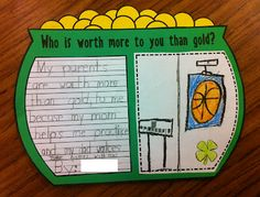 Cute St. Patrick's Day Writing Activities
