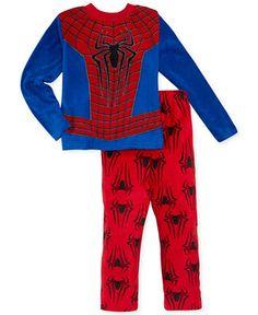 Spider-Man Boys' or Little Boys' 2-Piece Fleece Pajamas - Kids - Macy's