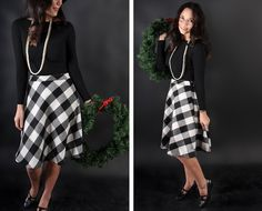 free wool  circle skirt pattern