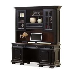 Riverside Furniture 44726 Allegro Computer Credenza