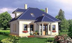 Model clasic casa cu mansarda inalta cu exterior alb si acoperis gri Shed, Exterior, Outdoor Structures, Mansions, House Styles, Outdoor Decor, Home Decor, Little Cottages, Decoration Home