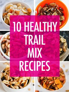 Snack happy with these flavorful and healthy trail mix recipes! They're easy to whip up and perfect for on-the-go snacking. Trail Mix Recipes, Snack Recipes, Cooking Recipes, Savory Snacks, Healthy Snacks, Healthy Recipes, Fruit Snacks, Protein Snacks, Vegan Snacks