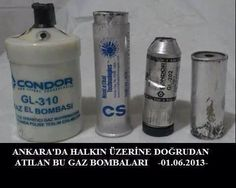 Gas bombs directed to protestors in Ankara DELILIM VAR - PROOFS #OccupyGezi #Direngeziparkı