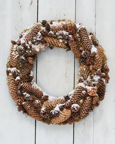 """See the """"Forest Floor Wreath"""" in our Holiday Wreaths gallery"""