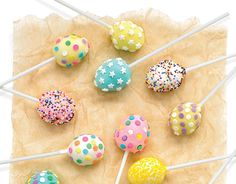 Kid Friendly Recipes -  Carrot-Cake Easter Cake Pops