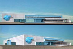 Διώροφο κτίριο εμπορικής αποθήκης στον Αυλώνα | vasdekis