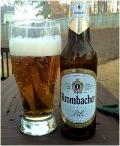 Krombacher Pils, Pilsner, German Beer, Bier, Lager