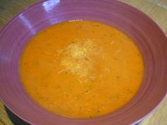 Crème de tomates et basilic