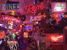 Have you seen the neon wonderland that is God's Own Junkyard?
