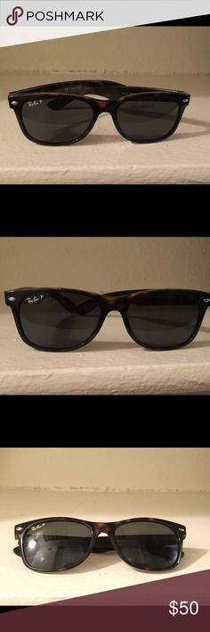 75f6155a8f Rayban New Wayfarer RB2132 Tortoise Sunglasses Used in good condition No  sunglass case Just the sunglasses