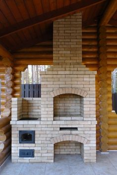 Outdoor Kitchen Design, Patio Design, Barbecue Garden, Barbecue Design, Fire Pit Bbq, Brick Bbq, Backyard Fireplace, Outdoor Oven, Outdoor Stone