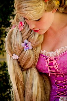 Rapunzel, Tangled.