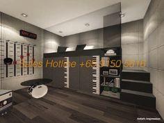Longhaus Bedroom 1 #LongHaus #Singapore #realestate #Property http://www.showflatlocation.com/183-longhaus/