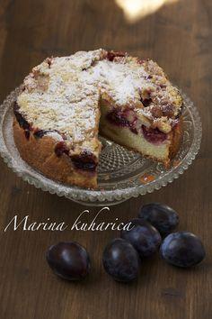 Austrian cake with plums http://kuharicazadjecu.dobrahrana.jutarnji.hr