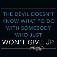 #LOVE My Facebook page: https://www.facebook.com/GROinspirationals #JoyceMeyer Never give up!