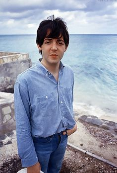 Paul McCartney on location for Help!, 1965.      Visit Kirstenjy on Pinterest for more sixties inspiration.