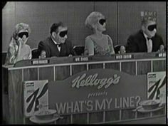 With Arlene Francis, Dick Van Dyke, Dorothy Kilgallen, and Bennett Cerf. Mystery guest is Gertrude Berg. Bennett Cerf, What's My Line, Oscar Winning Movies, James Cagney, Anthony Perkins, This Is Your Life, Show Video, Tv Times, Television Program