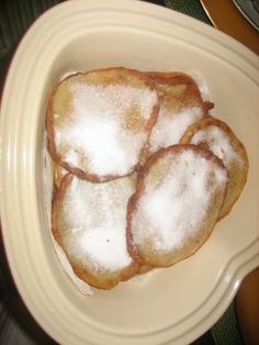 Banana Fritters are a delicious dessert made in the Caribbean.