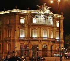 Villas, Big Ben, Mansions, House Styles, City, Building, Plaza, Travel, Night