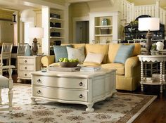 From pauladeenhome.com furniture line. Loving these colors!