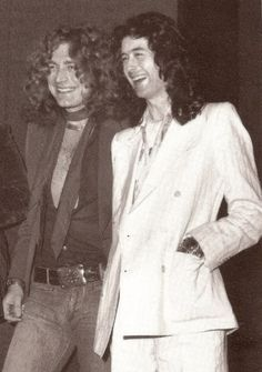Working with Jimmy was very stimulating because he was my senior in every respect, but the melding was good and by about the eighth song we wrote together, I began to realise that I had something with this guy that was very special. - Robert Plant