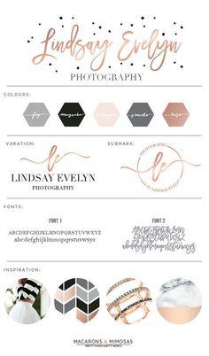 Ideas for photography studio logo design brand board Layout Design, Web Design, Design Ideas, Branding Kit, Business Branding, Logo Inspiration, Portfolio Design, Dot Logo, Photography Logo Design
