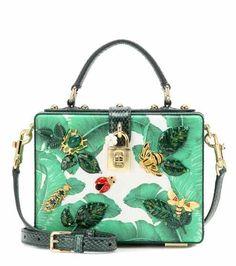 Embellished leather shoulder bag | Dolce & Gabbana