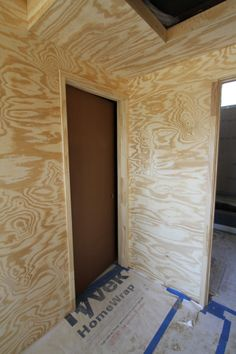 How to plywood interior