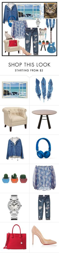 """""""Indigo Blue"""" by silvia-viotti ❤ liked on Polyvore featuring Beats by Dr. Dre, LUISA BECCARIA, Chopard, Abercrombie & Fitch, Michael Kors and Christian Louboutin"""