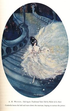 Cinderella Flees the Ball from The Annotated Brothers Grimm edited by Maria Tatar Cinderella Art, Cinderella Drawing, Classic Fairy Tales, Quirky Art, Grimm Fairy Tales, Fairytale Art, Pretty Art, Disney, Fantasy Art
