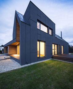 Дома в стиле модерн от BECZAK / BECZAK / ARCHITEKCI
