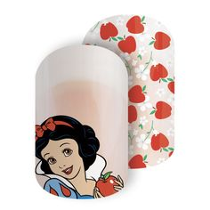 Just One Bite | Disney Collection by Jamberry Inspired by the rich-red poisonous apple and the colors of Disney Princess Snow White's beautiful dress, 'Just One Bite' brings the timeless fairytale to your fingertips.