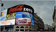 Picadilly  Circus. Londres http://www.viajesenfamilia.it/