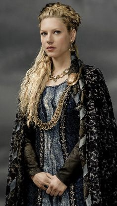 Lagertha from the TV show Vikings~ Love her, she is a wonderful strong woman
