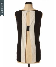 bootlegger.com : kismet colour block open back top