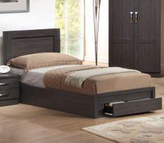LIFE κρεβάτι μονό με συρτάρι ΕΜ3631 - SOFA KING Έπιπλα για το σπίτι και την επιχείρηση