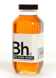 Ballard Bee Company honey, TKTJ Design.