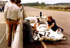 Torsten Palm, Hesketh 308B, Polarvagnen, Anderstorp, Sweden (1975).