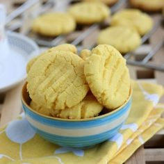 Melt in Mouth Custard Powder cookies - No egg - No butter- Recipe with step wise pictures