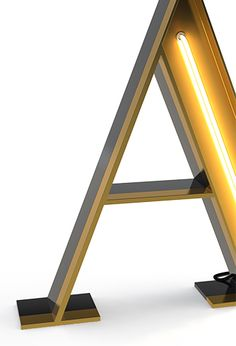 These graphic neon lamps arrived to light up any public space. These industrial letters lamps light up any home, either a big living room or a kids' room, through the bright of each neon lamp