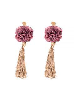 Indian Jewelry Earrings, Bridal Earrings, Boho Jewelry, Fine Jewelry, Women Jewelry, Fabric Earrings, Tassel Earrings, Stud Earrings, Cool Gifts For Women