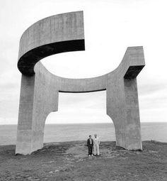 Eduardo Chillida: Elogio de Horizonte, Gijón, Asturias
