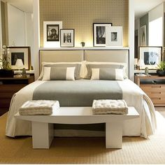 A great bedroom design is one that is both stylish and comfortable. Bedding Master Bedroom, Home Bedroom, Bedroom Furniture, Awesome Bedrooms, Beautiful Bedrooms, Dream Rooms, Dream Bedroom, Bedroom Decor For Couples, H Design