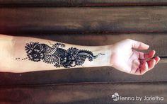 Henna by Jorietha - Henna Tattoo Arm Website: jorietha.com Facebook: www.facebook.com/hennabyjorietha Twitter: @hennabyjorietha