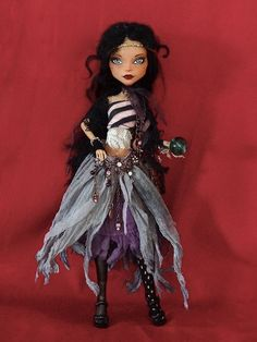 Magic woman - Monster High repaint by Marina's art dolls, via Flickr