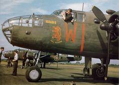North Americam Mitchell Mk.II, EV-W of No.180 Squadron at Foulsham on July 28, 1943