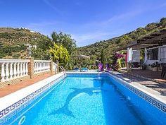 Dekoriert gemütliche Villa mit Garten und Pool in Cómpeta. Schöne Aussicht.Ferienhaus in Competa von @homeaway! #vacation #rental #travel #homeaway